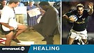 PROFESSIONAL RUGBY PLAYER HEALED OF CAREER THREA...