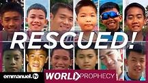 THAILAND FOOTBALL TEAM CAVE RESCUE!!! | TB Joshua Prayer