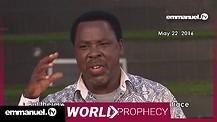 UK TERROR ATTACK!!! | TB Joshua Prophecy
