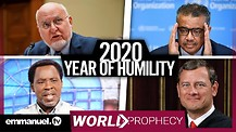 WORLD FIGURES CONFIRM TB JOSHUA'S 2020 PROPHECY ON HUMILITY!!!