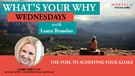 What's Your Why Wednesdays interview with Jerr...