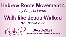 Spirit of Prophecy Church - Sunday Service 06/20/2021