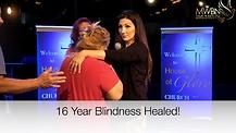 16 Year Blind Eye Healed! Apostle Cathy Coppola