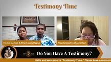 Testimony Time with Stephanie Ham