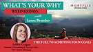 What's Your Why Wednesdays interview with Ashl...