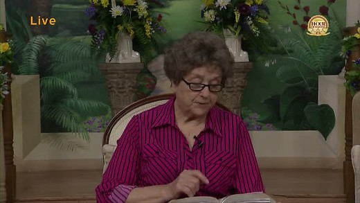 3-27-20 Hour of Harvest featuring a message from Sister...